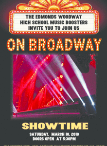 Edmonds-Woodway High School Music Gala is March 10th!